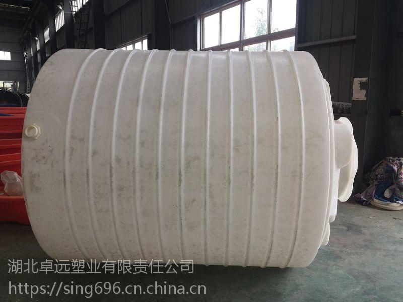 卓远塑业厂家全国热卖5T平底水塔可以用作水桶、酒桶、食品塑料桶