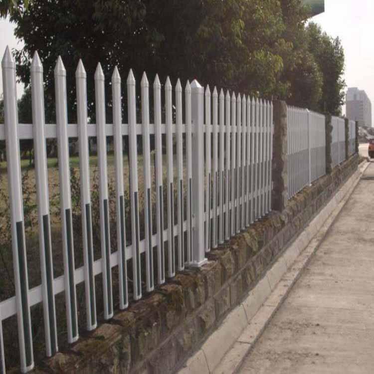 浙江省绍兴市越城围墙护栏大门,用什么材料做塑钢pvc围墙护栏