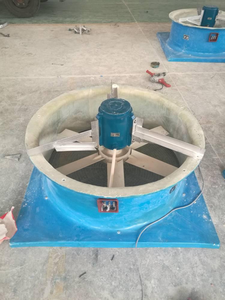 河北润飞BDW87-3-7玻璃钢屋顶风机功率1.5kw转速980r/min特点:低噪声防腐