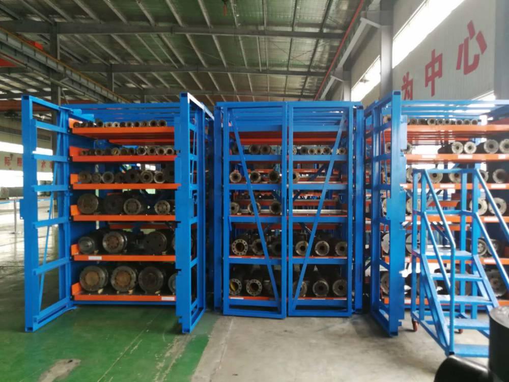 郑州的公司一般都怎么存放管材 抽屉式货架的应用 铜管仓库管理方法