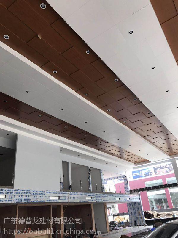 广州德普龙单向龙骨勾搭式结构4S店镀锌天花吊顶价格合理