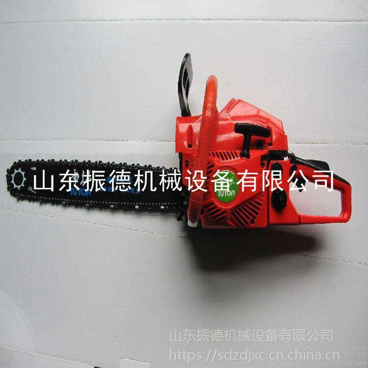 新款优质砍树机 汽油伐木锯 园林家用汽油链锯 振德供应