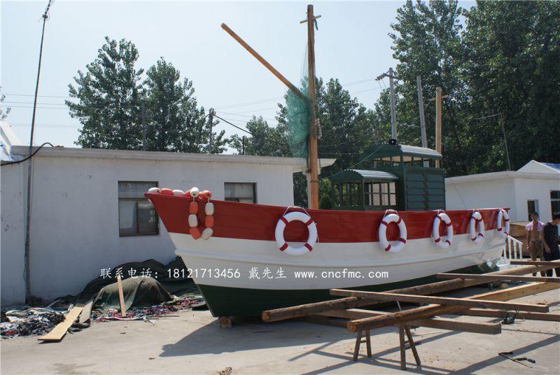 拍摄婚纱道具船 画舫船餐饮船 欧式木船 客船出售 楚风