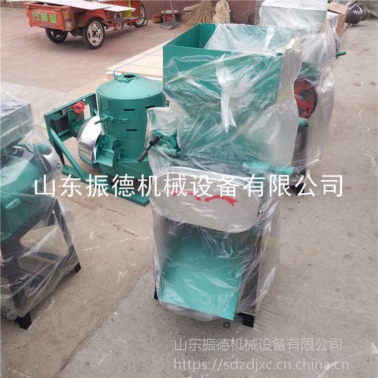 商用型 花生米磕瓣机 黄豆挤扁机 振德批发 花生切碎机