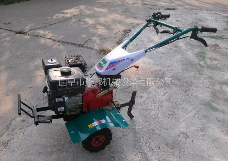 西瓜种植小型微耕机 手扶式柴油微耕机 微耕机工作视频