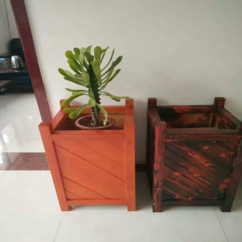 直销各种绿化花箱品质高,防腐木花箱售后好,厂家