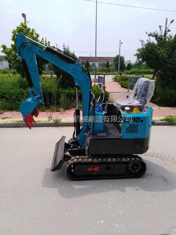 橡胶履带挖掘机现货供应 果园苗圃挖坑用挖掘机 体型小灵活