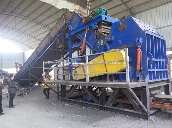 废旧铁皮铁板金属破碎机|450型废钢破碎机机构厂家现货供应