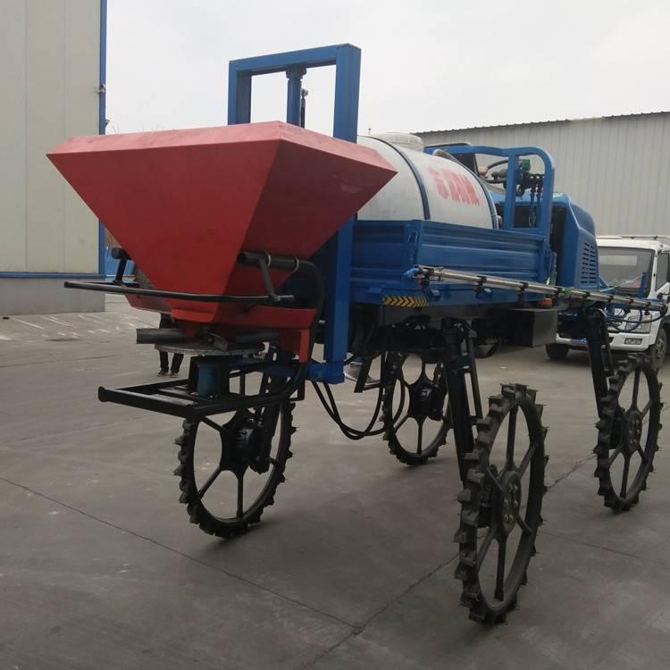 大型喷杆喷雾器柴油四轮打药机水旱自走四驱杀虫机 直销