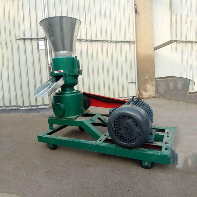 家用型草料压粒机 有机肥造粒机 养殖场鸭饲料颗粒机厂家