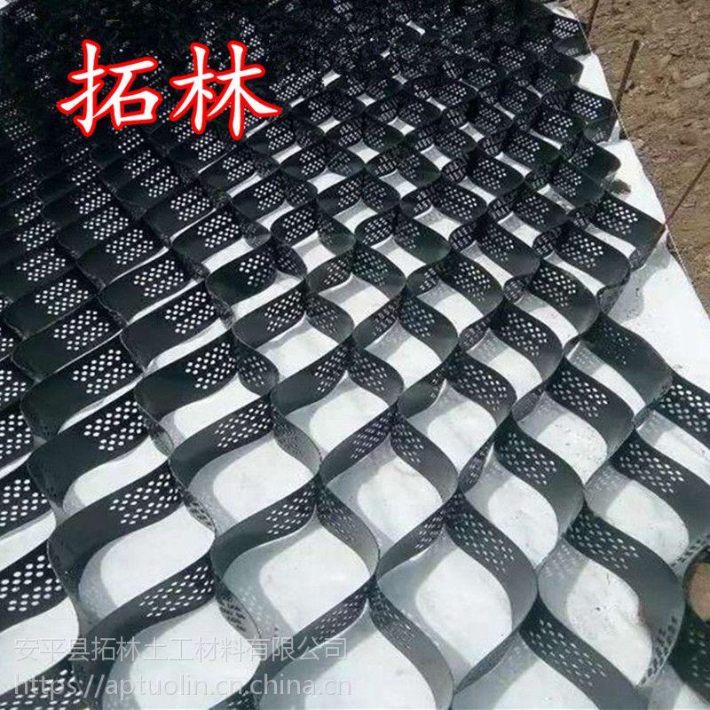 塑料拉伸土工格栅 土工格栅规格 塑料拉伸土工格栅用途