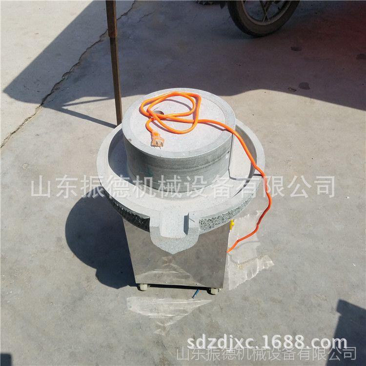 多功能仿古砂岩石磨 振德牌石磨豆浆机  休闲食品加工磨浆机