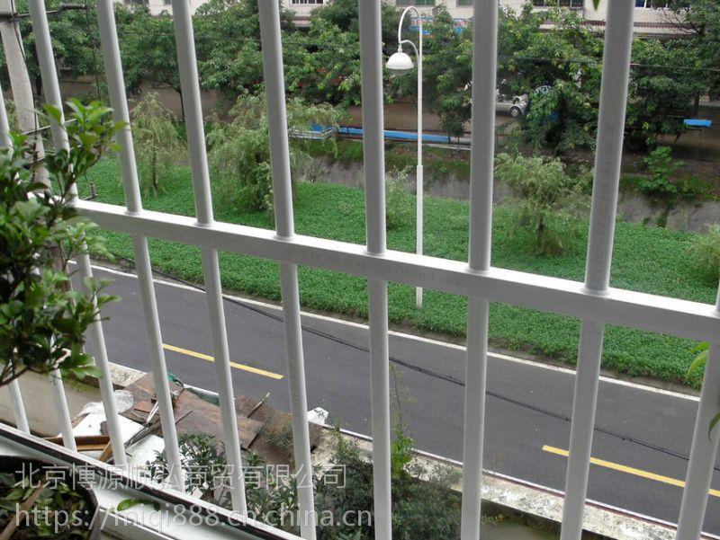 荷泽锌合金百叶窗,荷泽锌钢飘窗围栏HC,组装防盗窗Q235,烤漆百叶空调围栏,