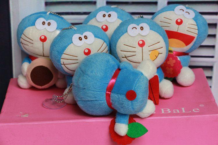 可爱表情猫公仔机器猫毛绒玩具包包A梦卡通钥亚索哆啦动态暴走漫画图片图片