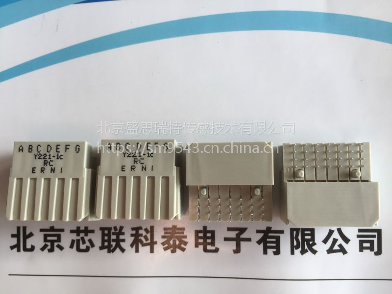 384294连接器ERNI恩尼Right Angle Male Type E160