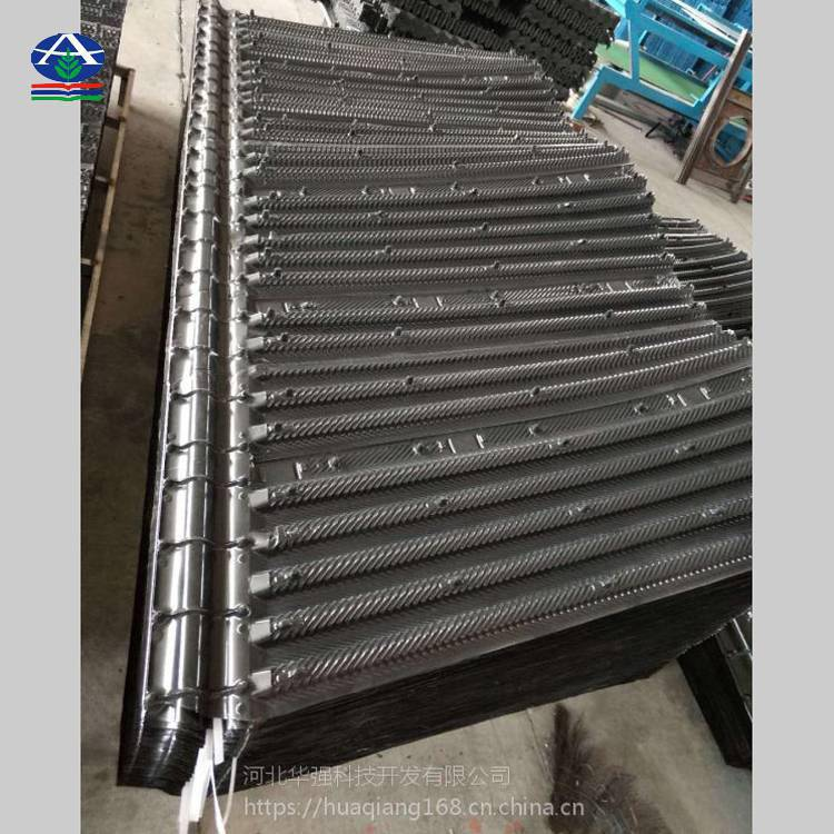 BAC蒸发式冷凝式专用填料现场安装方法有视频【河北华强】