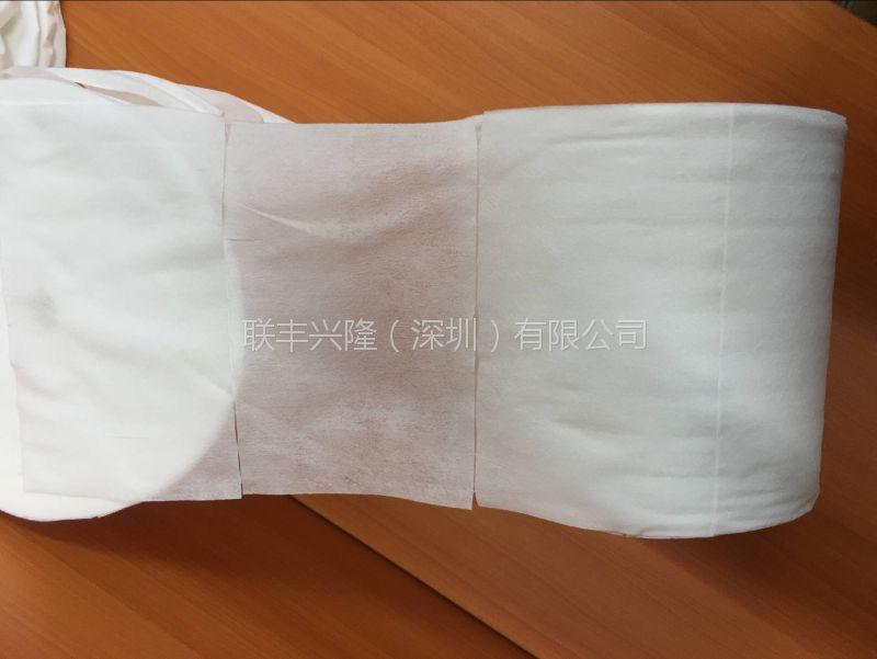 全粘胶无纺布生产厂家 50g医疗用交叉水刺无纺布 广东棉柔巾贴牌