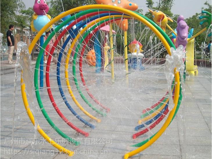 广州润乐水上设备-七彩戏水圈
