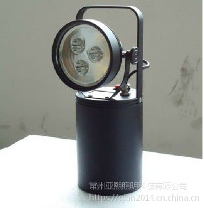 JIW5281轻便式多功能强光防爆灯 功率9W 强光8小时间 工作光16小时手提探照灯