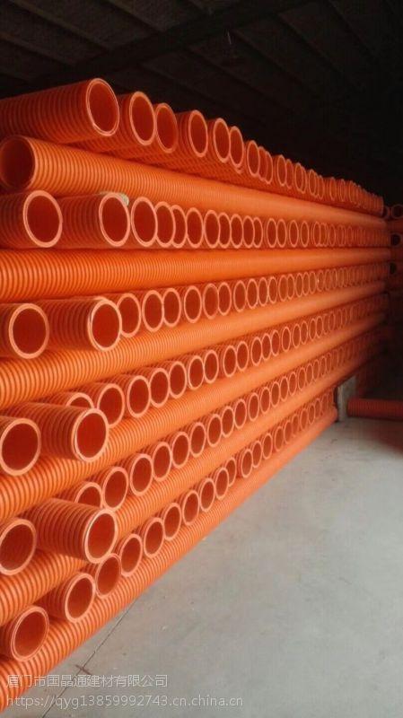 厦门IFB电力增强波纹管13859992743厦门HFB电力管七孔梅花管玻璃钢管波纹管
