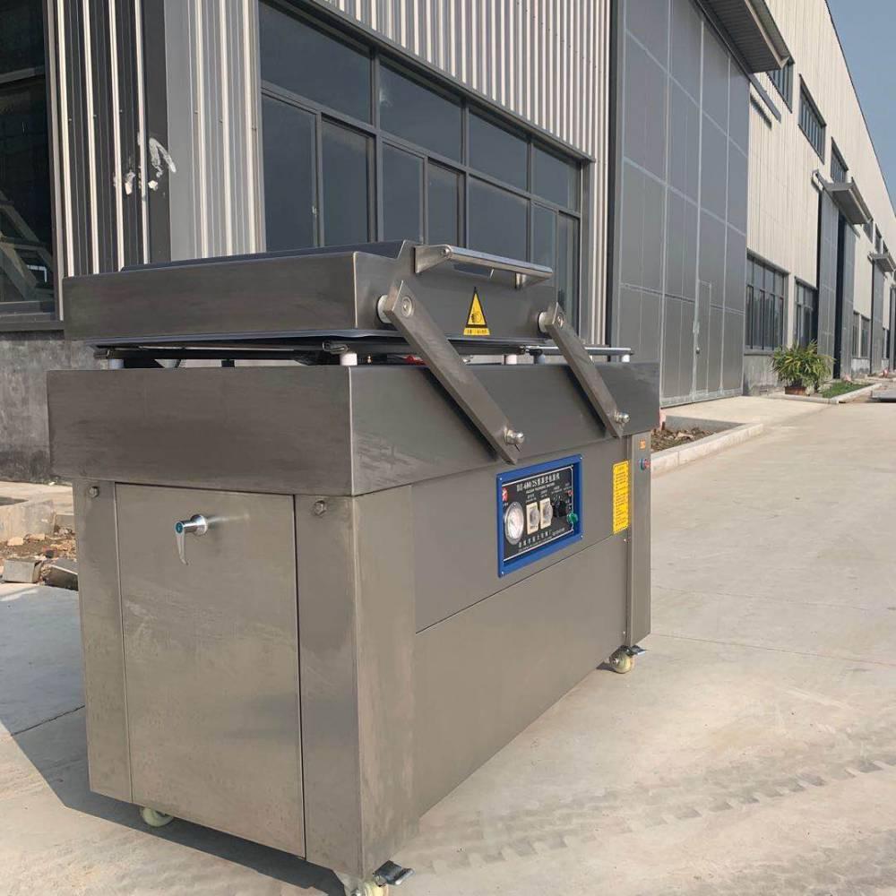 肉冻类真空包装机 强大双室真空包装机详细配置