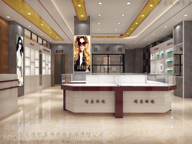 渭南眼镜店装修公司眼镜展柜定制制作