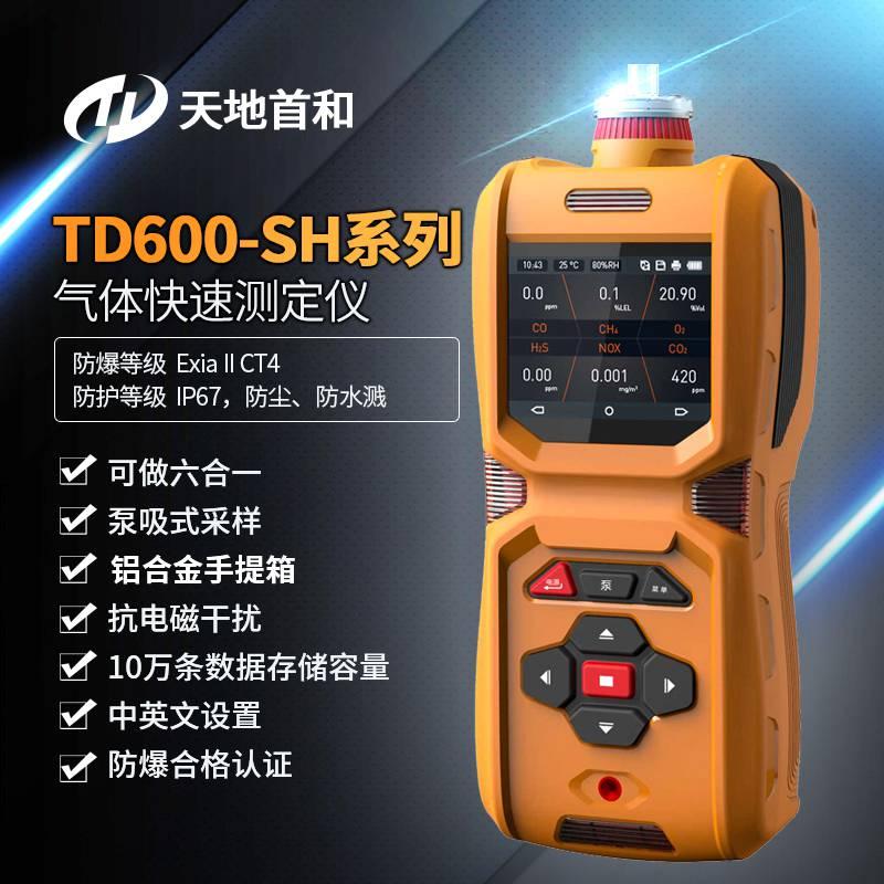 高清彩屏显示高精度氩气纯度检测仪TD600-SH-Ar氩气瓶中气体如何检测?