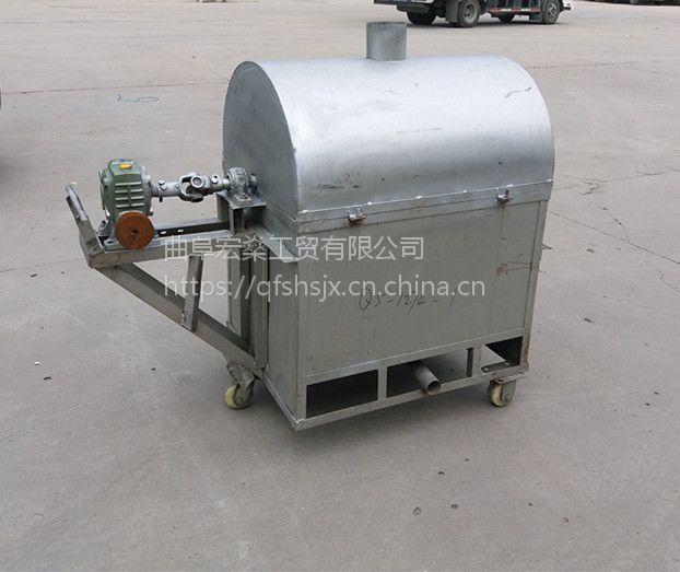 电加热滚筒炒锅 多功能 加厚型滚筒炒货机