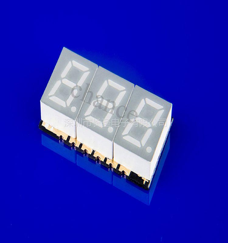 四位八红光时钟数码管 0.2英寸数码管 深圳长圣电子厂