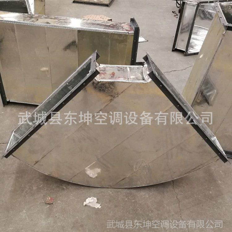 生产加工镀锌风管 镀锌钢板风管,风管弯头,各种风管异形件