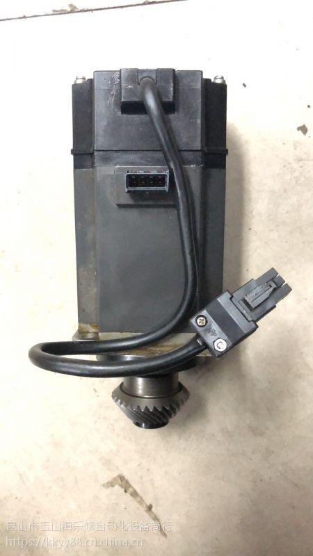 常州快速三菱伺服电机维修 HC-KFS73磁钢爆裂线圈接地编码器报警