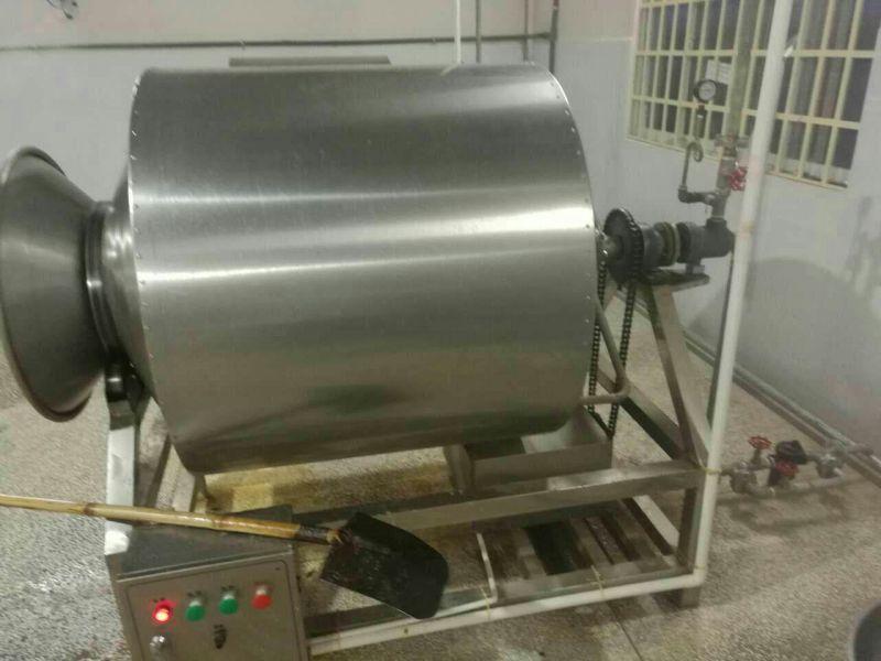诸城正康食品机械厂家直供肉制品真空滚揉机