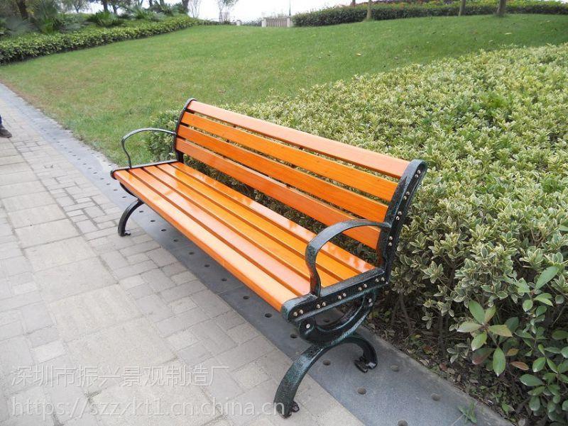 资阳实木靠背休闲椅定做,1.8米,公共公园椅任何尺寸定制—振兴