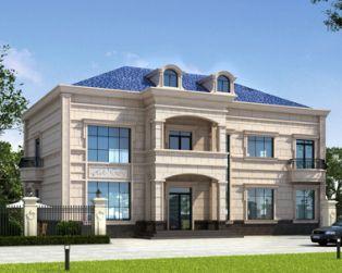 萍乡别墅设计占地230平米AT1773二层大气实用私家别墅全套设计施工图纸18.2mX11.2m