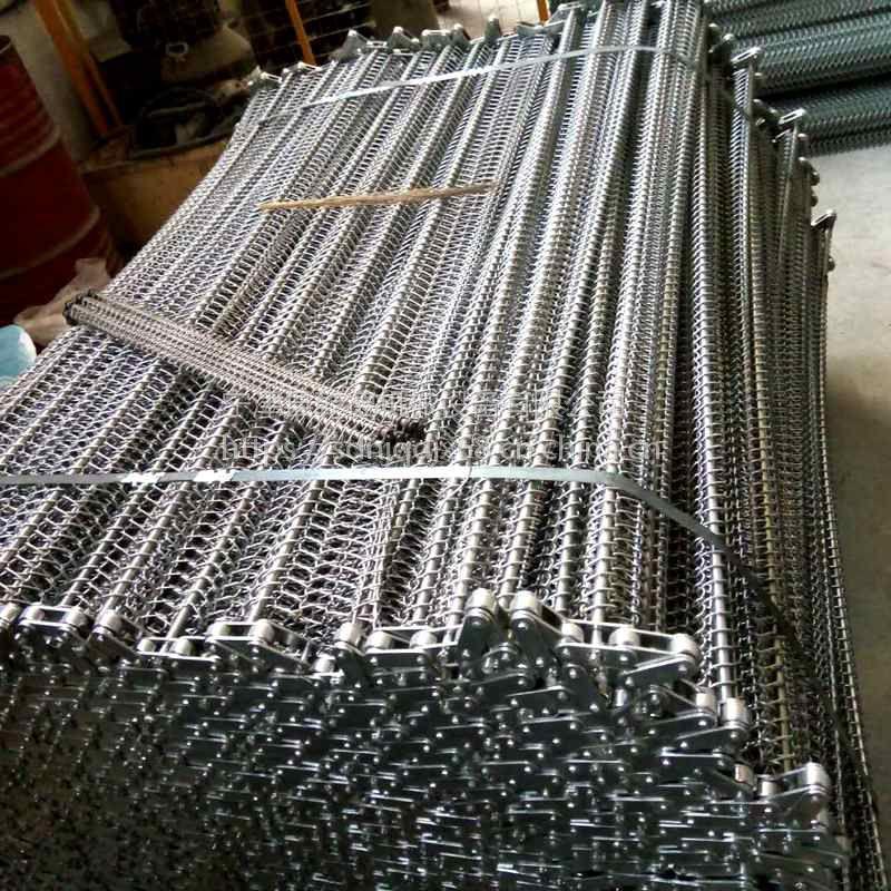 宁津网带生产厂家乾德祝大家新的一年发大财 食品输送不锈钢网带