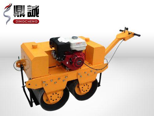 热卖全新低价手扶式双钢轮压路机