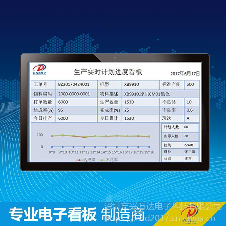 深圳兴万达/esop电子显示系统/esop液晶看板系统/物料呼叫系统