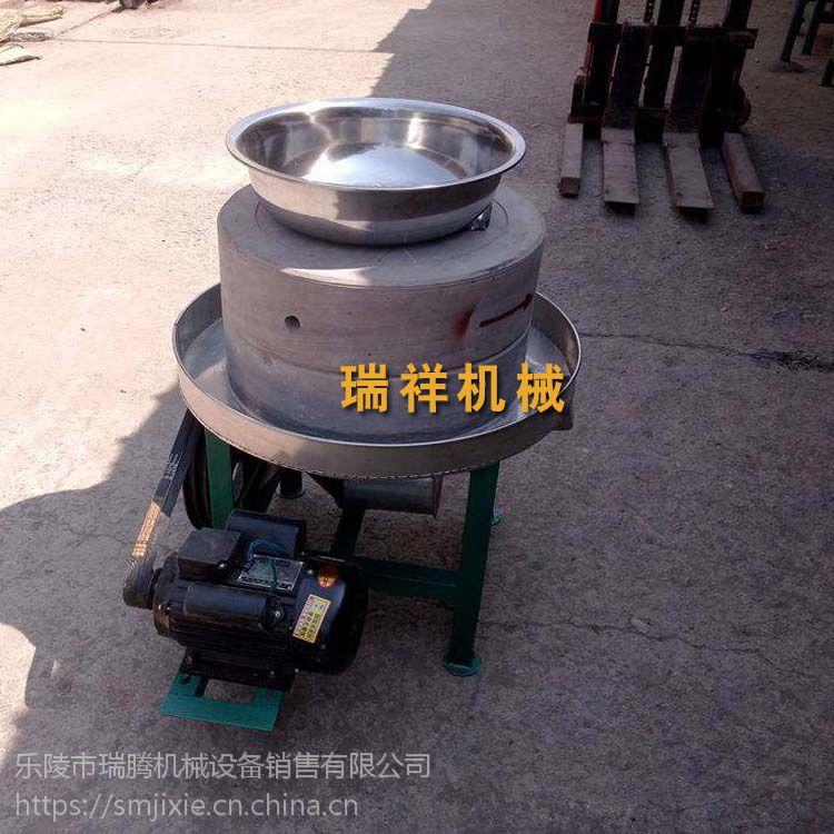 芝麻石磨香油机-超市专用石磨香油机厂家