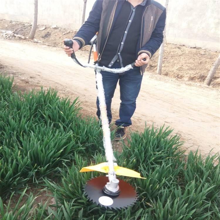 梨园松土用多功能割草机 好携带的背负是割草机 润众