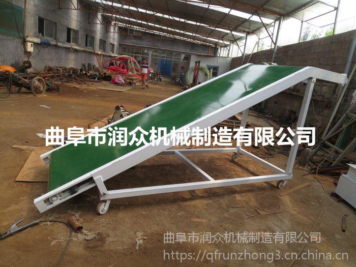 西安砖厂专用砖块输送机 润众定制小型电子流水线 固定式输送机