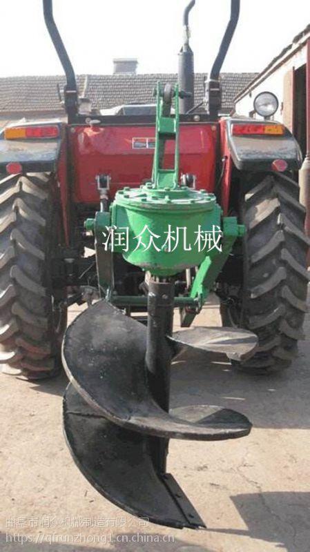 大功率四冲程挖坑机 超强马力植树挖坑机 润众厂家供应