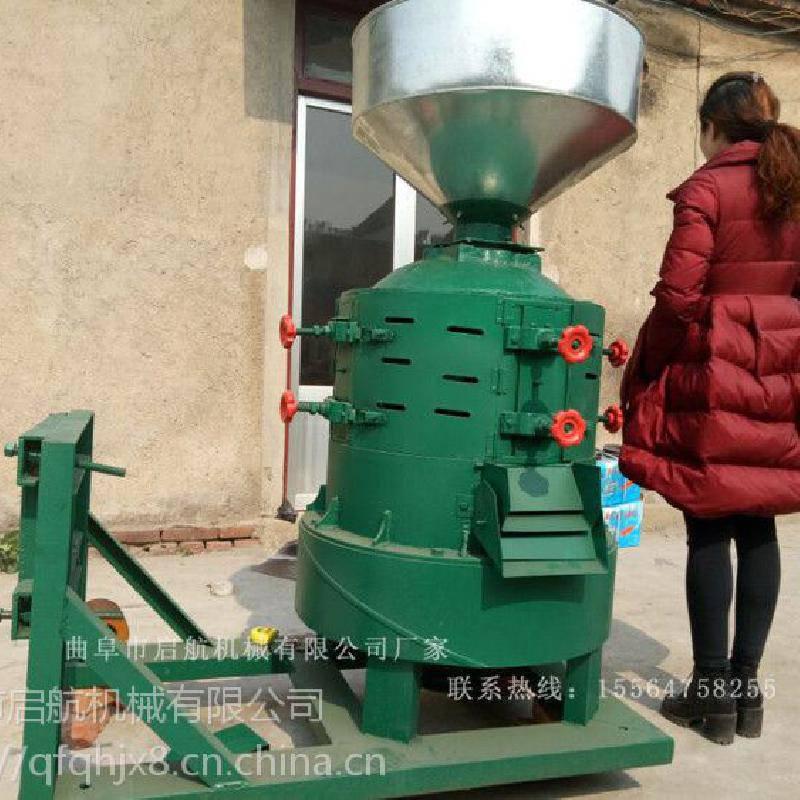 金华市大产量沙克龙式碾米机 启航牌环保型水稻去皮机 砂辊式玉米脱皮机厂家