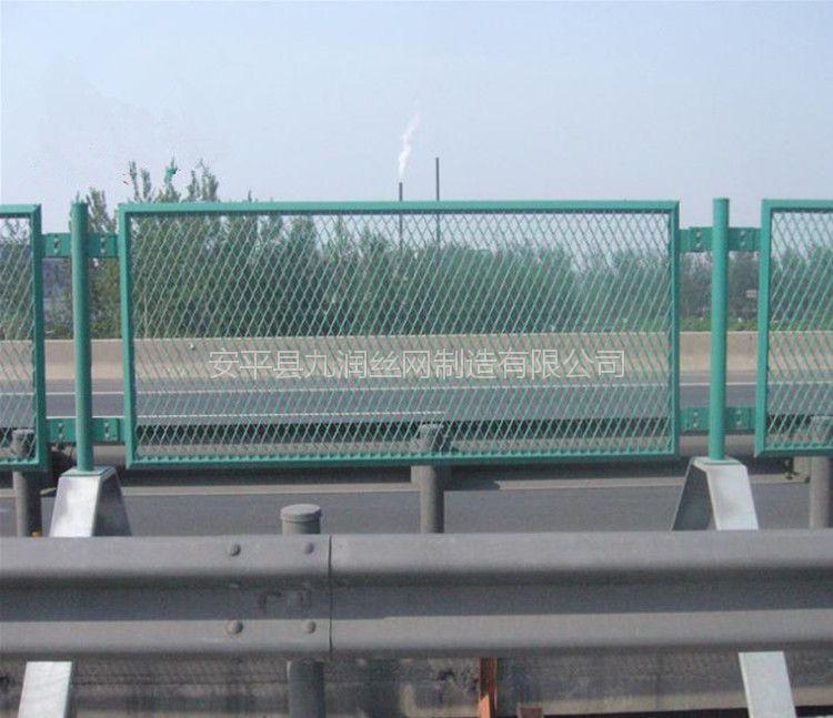 厂家供应公路防眩网 高速公路防眩网 菱形钢板网