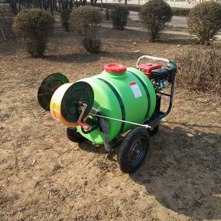 精品推车式杀虫打药车旭阳160L汽油高压喷雾机社区绿植喷洒机