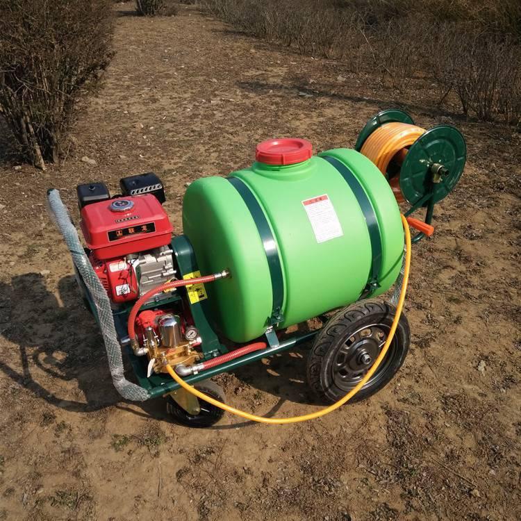旭阳供应草坪杀虫喷雾器汽油高压打药机160L农作物喷药车