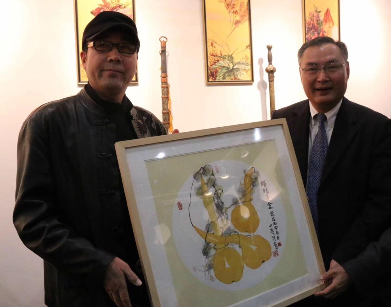 中国艺术家组团亮相洛杉矶艺术博览会 刘心亮老师四幅佳作被收录