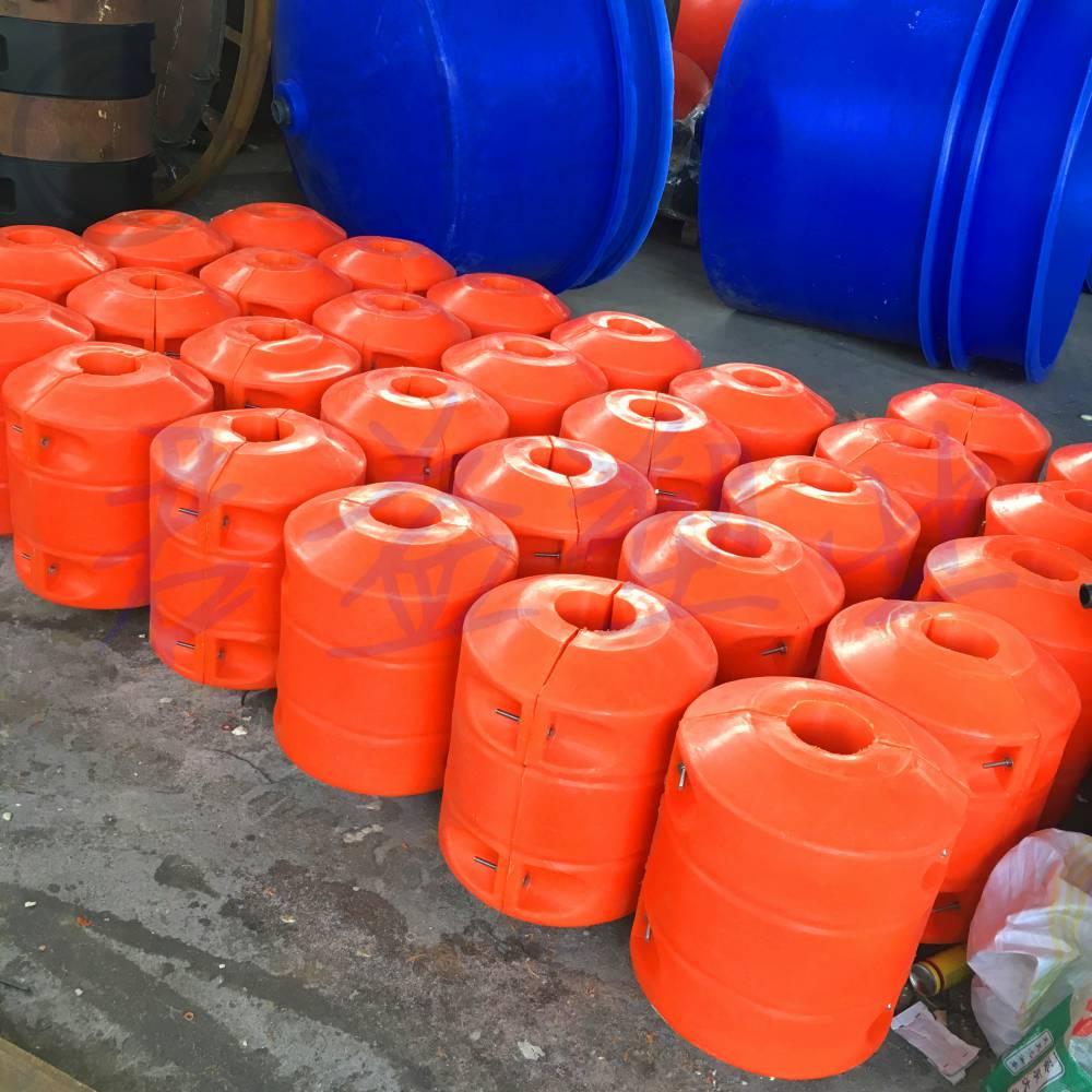 连云港塑料浮筒 ø400*500浮筒厂家加工