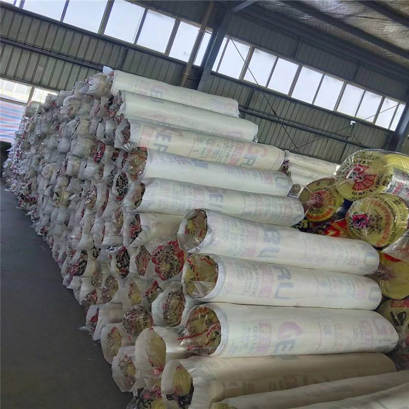 厂家销售白色玻璃棉板 高负载玻璃棉保温板