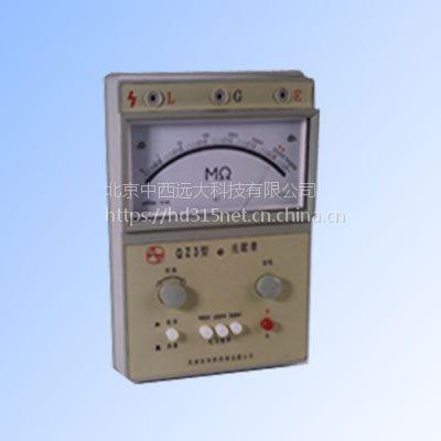 兆欧表(100V、250V、500V/0-500000MΩ )中西器材 型号:XP67QZ3库号:M