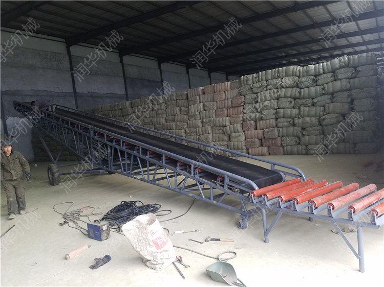 移动式皮带输送机 物料装卸输送机 皮带输送机型号